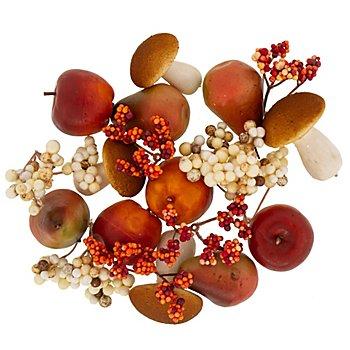 Deko-Herbstfrüchte-Mix, 20 Stück