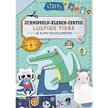 Buch 'Schnippeln-Kleben-Fertig! - Lustige Tiere'