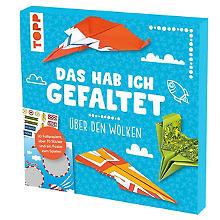 Bastel-Set 'Das hab ich gefaltet - Papierflieger über den Wolken'