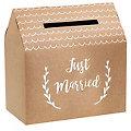 "Kartenbox ""Just Married"", 30 x 30,5 x 16,5 cm"