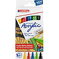 edding Acrylmarker-Set medium, Basic, 5 Stifte