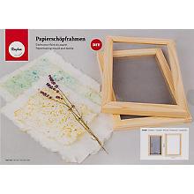 Papierschöpfrahmen, 2-teilig, 30 x 21 cm