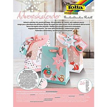 folia Adventskalender 'Geschenktaschen'