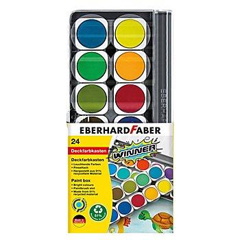 Winner Deckfarbkasten, 24 Farben