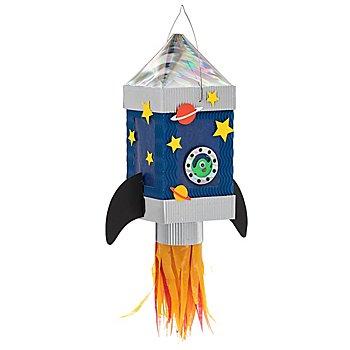 buttinette Mini-Laternenset 'Rakete'