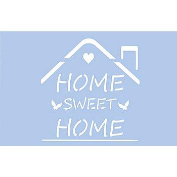buttinette Schablone 'Home'