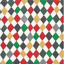 Papierservietten 'Weihnachtliche Rauten', 33 x 33 cm, 20 Stück