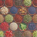 """Serviettes en papier """"épices"""", 33 x 33 cm, 20 pièces"""