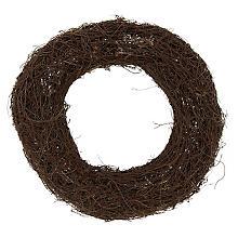 Couronne en sarment de vigne, 25 cm Ø