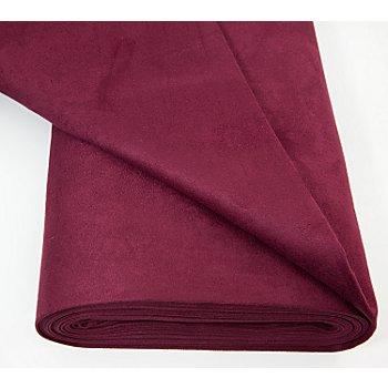 Tissu velours d'ameublement, bordeaux