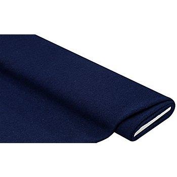 Mantelstoff 'Peter' aus reiner Wolle, indigo