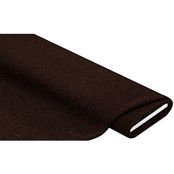 Mantelstoff 'Peter' aus reiner Wolle, braun
