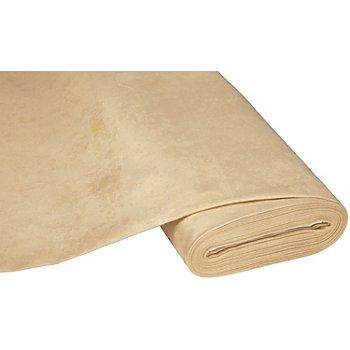 Weicher Möbel-Veloursstoff, sand