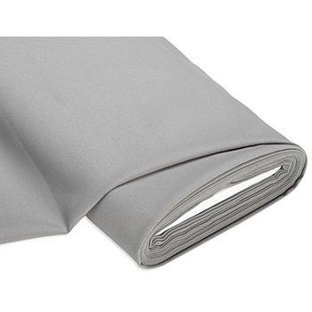 Tissu polyester uni, gris
