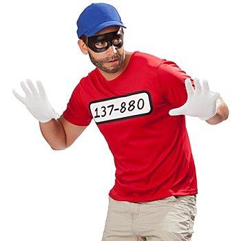 buttinette T-shirt de cambrioleur, rouge