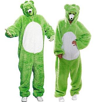 buttinette Combinaison 'ours' pour hommes ou femmes, vert