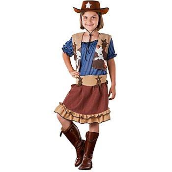 Cowgirl-Kostüm für Kinder