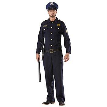 Karnevalskostüm Police Officer für Herren