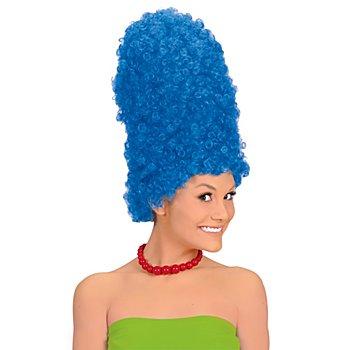 Perruque 'Marge', bleu