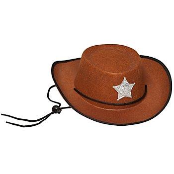 Cowboyhut für Kinder, braun