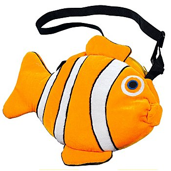 buttinette Tasche Fisch, orange