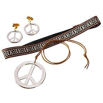 Set de bijoux 'hippie', argent