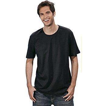 T-Shirt für Herren, schwarz