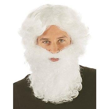 Set Père Noël, blanc/rouge