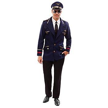 Piloten-Jacke, blau