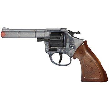 Pistolet 'cowboy', transparent/marron