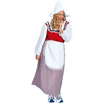 Robe longue 'hollandaise'