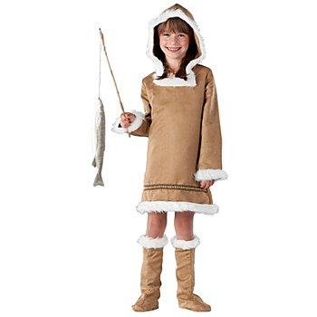 buttinette Eskimo-Kostüm für Mädchen
