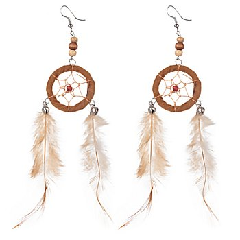 Indianer Ohrringe 'Traumfänger'