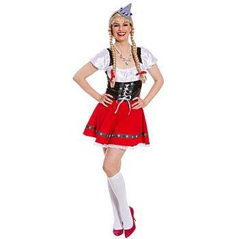 Mini-robe tyrolienne 'Heidi'