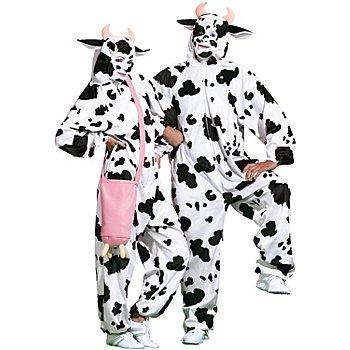 buttinette Déguisement 'vache' femme
