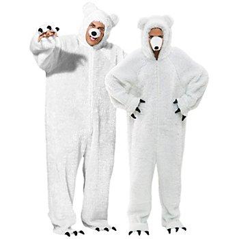 buttinette Eisbär-Kostüm für SIE und IHN