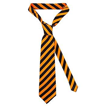 Krawatte 'orange/schwarz'