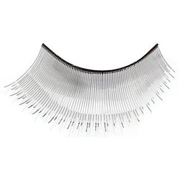 EULENSPIEGEL Wimpern 'Metallic silber'