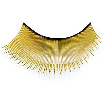 EULENSPIEGEL Wimpern 'Metallic gold'