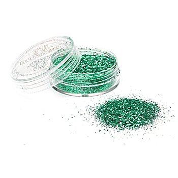 EULENSPIEGEL Kosmetik Glitzer, grün