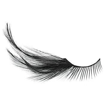 FANTASY Faux cils avec plumes, noir