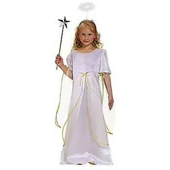 Engel Kostüm für Kinder, weiß/gold