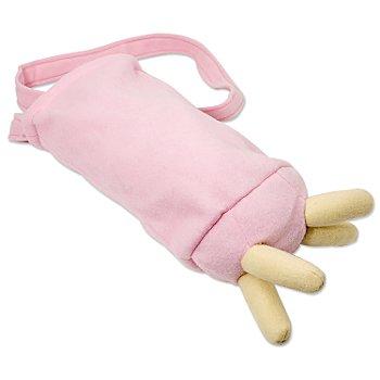 buttinette Tasche Kuheuter, rosa