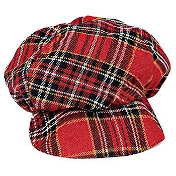 Mütze, rot