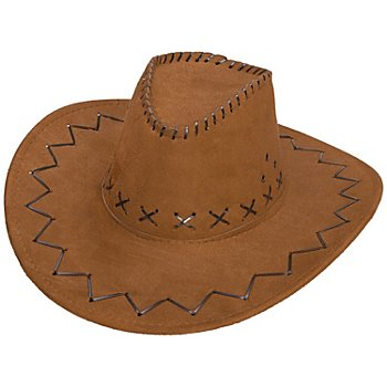 Chapeau de cowboy, marron
