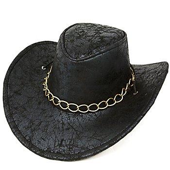 Cowboyhut 'Bill', schwarz