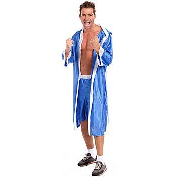 Boxer Kostüm, blau