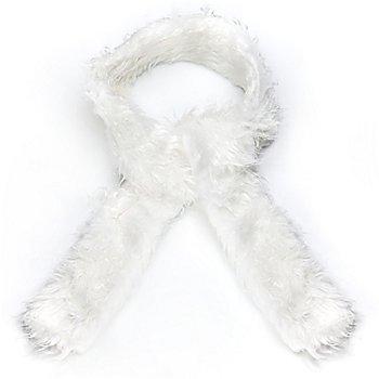 Echarpe, blanc