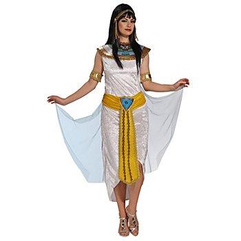 Déguisement 'Cléopâtre', blanc/multicolore