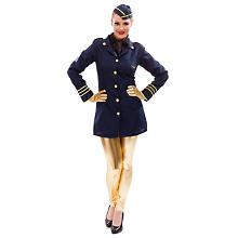 Stewardess Kostüm & Pilotenkostüm | buttinette Fasching Shop
